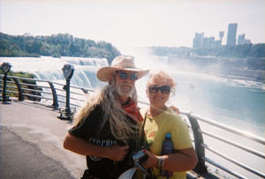 almost willie and Miss Kitty at Niagra Falls